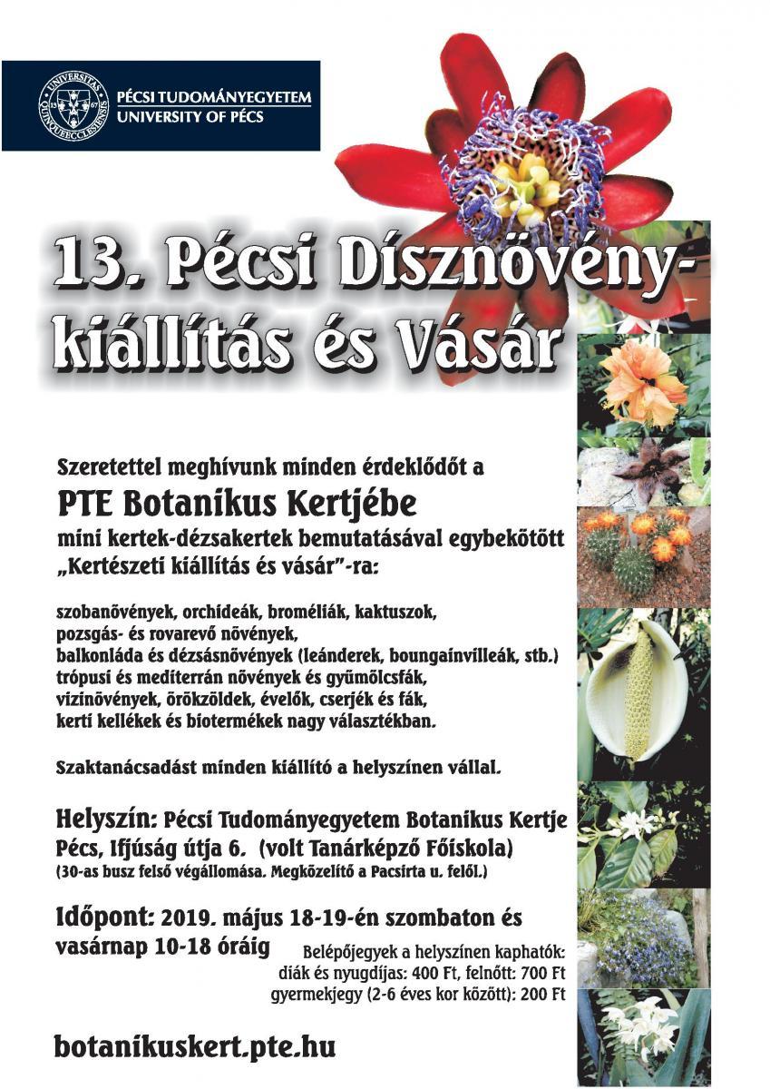 d45181d875 A PTE Botanikus Kertjének 2019-es programjai | Pécsi Tudományegyetem